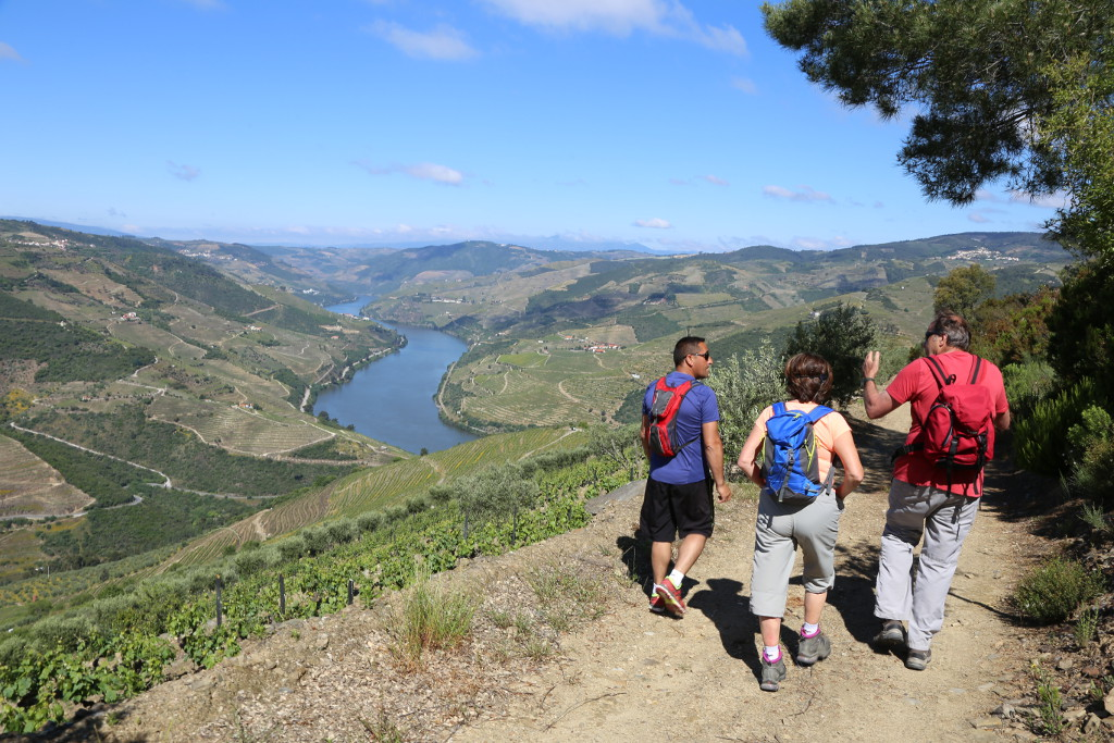 self-guided walking tour in douro